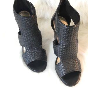 "New Cato Black Ankle Bootie Size 8, 3.5"" Heel"